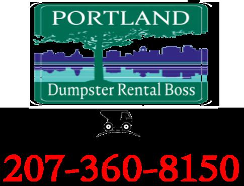Portland dumpster rental service